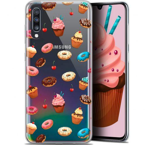 "Carcasa Gel Extra Fina Samsung Galaxy A70 (6.7"") Foodie Donuts"
