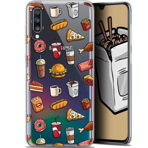 """Carcasa Gel Extra Fina Samsung Galaxy A70 (6.7"""") Foodie Fast Food"""