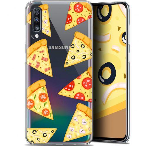 "Carcasa Gel Extra Fina Samsung Galaxy A70 (6.7"") Foodie Pizza"