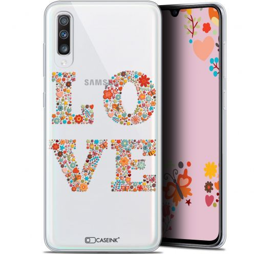 "Carcasa Gel Extra Fina Samsung Galaxy A70 (6.7"") Summer Love Flowers"