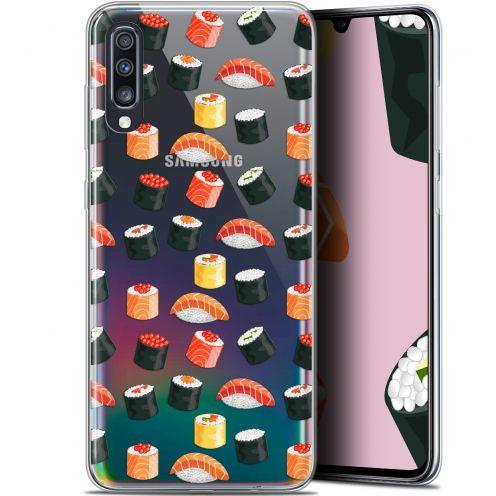 """Carcasa Gel Extra Fina Samsung Galaxy A70 (6.7"""") Foodie Sushi"""