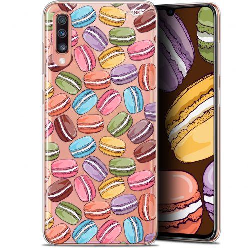 "Carcasa Gel Extra Fina Samsung Galaxy A70 (6.7"") Design Macarons"
