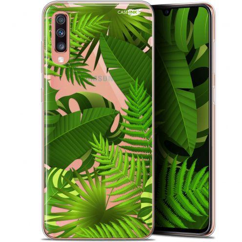 "Carcasa Gel Extra Fina Samsung Galaxy A70 (6.7"") Design Plantes des Tropiques"