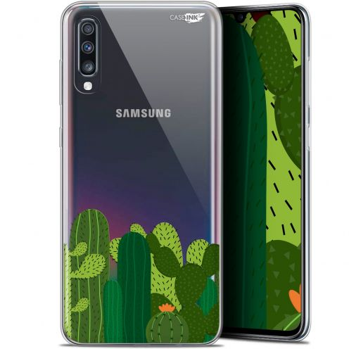 "Carcasa Gel Extra Fina Samsung Galaxy A70 (6.7"") Design Cactus"