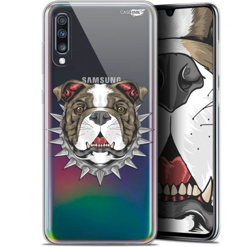 "Carcasa Gel Extra Fina Samsung Galaxy A70 (6.7"") Design Doggy"