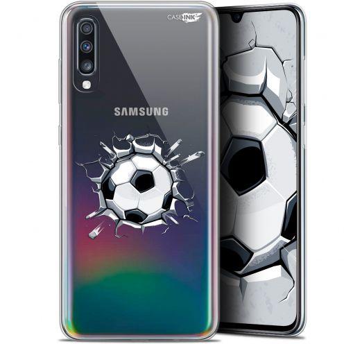 """Carcasa Gel Extra Fina Samsung Galaxy A70 (6.7"""") Design Le Balon de Foot"""
