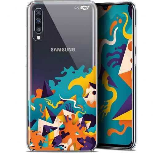 "Carcasa Gel Extra Fina Samsung Galaxy A70 (6.7"") Design Les Vagues"