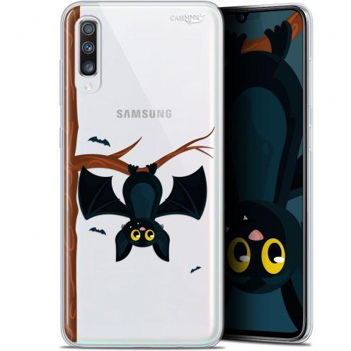 """Carcasa Gel Extra Fina Samsung Galaxy A70 (6.7"""") Design Petite Chauve Souris"""