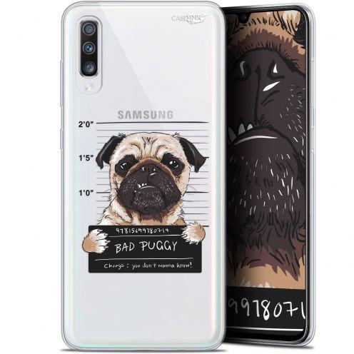 "Carcasa Gel Extra Fina Samsung Galaxy A70 (6.7"") Design Beware The Puggy Dog"