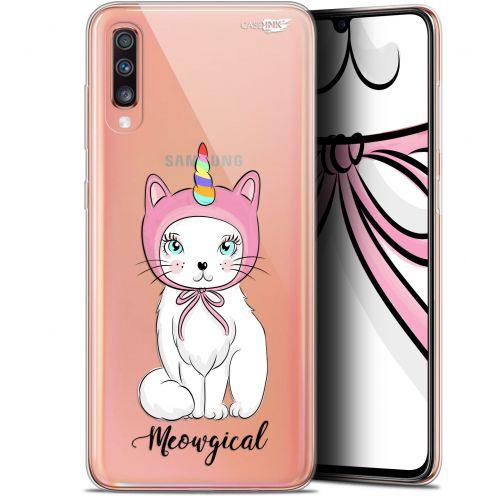 "Carcasa Gel Extra Fina Samsung Galaxy A70 (6.7"") Design Ce Chat Est MEOUgical"