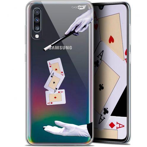"""Carcasa Gel Extra Fina Samsung Galaxy A70 (6.7"""") Design Cartes Magiques"""