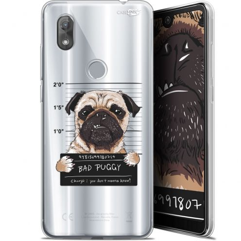 "Carcasa Gel Extra Fina Wiko View 2 (6"") Design Beware The Puggy Dog"