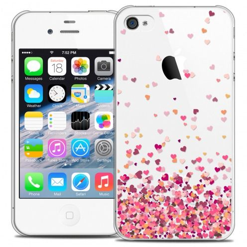 Carcasa Crystal Extra Fina iPhone 4/4s Sweetie Heart Flakes