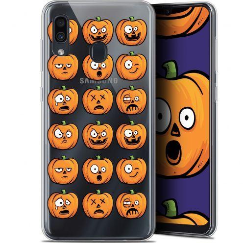 "Carcasa Gel Extra Fina Samsung Galaxy A30 (6.4"") Halloween Cartoon Citrouille"