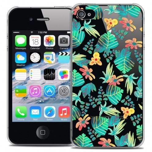 Carcasa Crystal Extra Fina iPhone 4/4s Spring Tropical