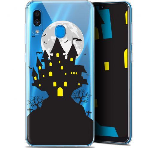 "Carcasa Gel Extra Fina Samsung Galaxy A30 (6.4"") Halloween Castle Scream"