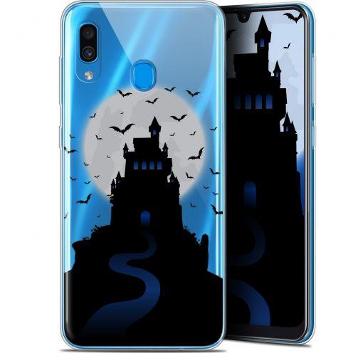 "Carcasa Gel Extra Fina Samsung Galaxy A30 (6.4"") Halloween Castle Nightmare"