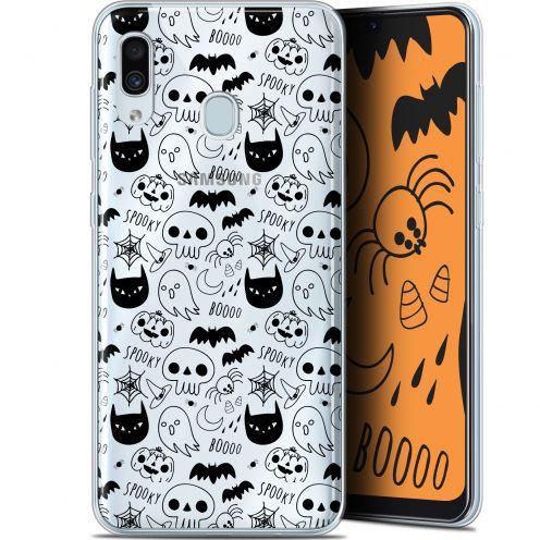 "Carcasa Gel Extra Fina Samsung Galaxy A30 (6.4"") Halloween Spooky"