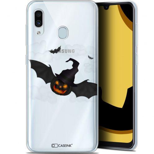 "Carcasa Gel Extra Fina Samsung Galaxy A30 (6.4"") Halloween Chauve Citrouille"