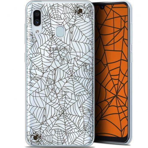 "Carcasa Gel Extra Fina Samsung Galaxy A30 (6.4"") Halloween Spooky Spider"