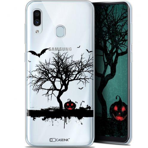 "Carcasa Gel Extra Fina Samsung Galaxy A30 (6.4"") Halloween Devil's Tree"