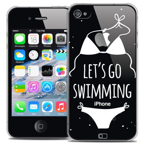 Carcasa Crystal Extra Fina iPhone 4/4s Summer Let's Go Swim