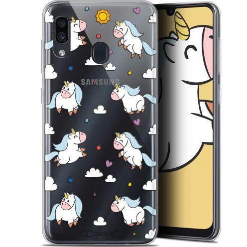 "Carcasa Gel Extra Fina Samsung Galaxy A30 (6.4"") Fantasia Licorne In the Sky"