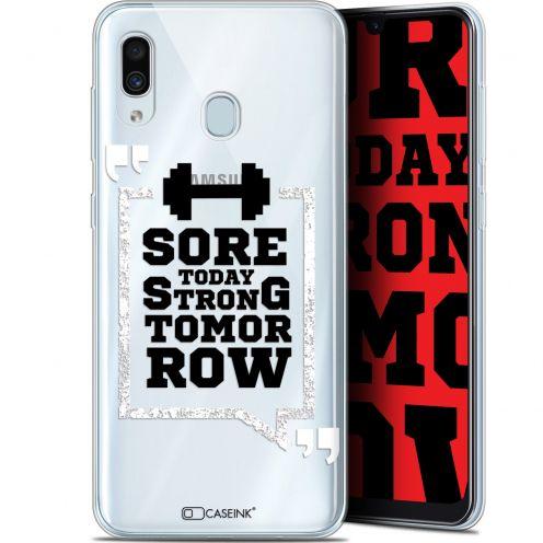 "Carcasa Gel Extra Fina Samsung Galaxy A30 (6.4"") Quote Strong Tomorrow"