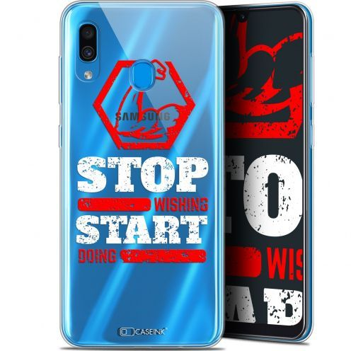 "Carcasa Gel Extra Fina Samsung Galaxy A30 (6.4"") Quote Start Doing"