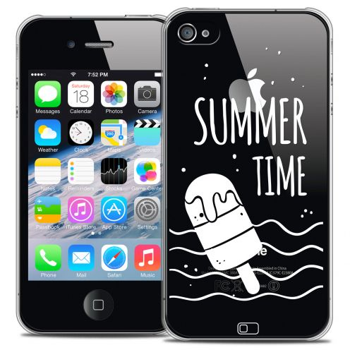 Carcasa Crystal Extra Fina iPhone 4/4s Summer Summer Time
