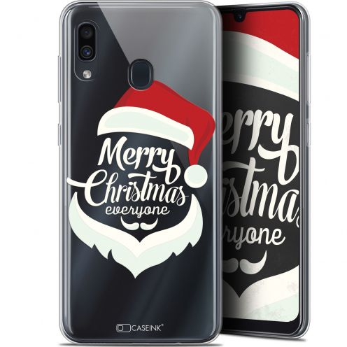 "Carcasa Gel Extra Fina Samsung Galaxy A30 (6.4"") Noël 2017 Merry Everyone"