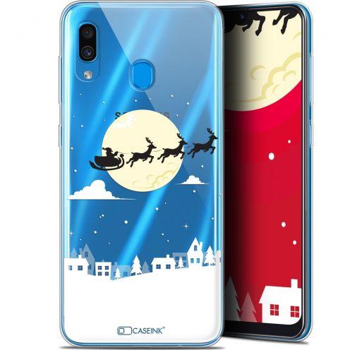 """Carcasa Gel Extra Fina Samsung Galaxy A30 (6.4"""") Noël 2017 Flying Stanta"""