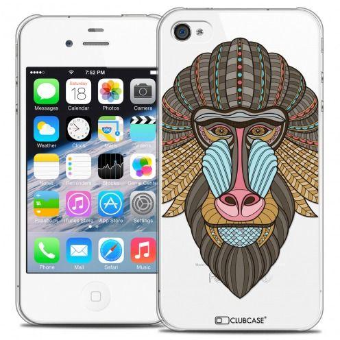 Carcasa Crystal Extra Fina iPhone 4/4s Summer Babouin