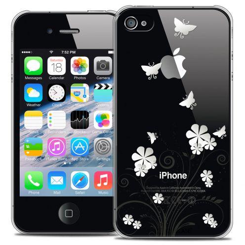 Carcasa Crystal Extra Fina iPhone 4/4s Summer Papillons
