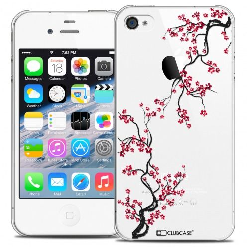 Carcasa Crystal Extra Fina iPhone 4/4s Summer Sakura