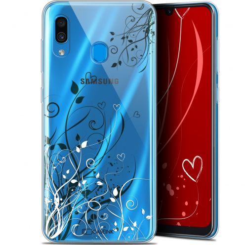 "Carcasa Gel Extra Fina Samsung Galaxy A30 (6.4"") Love Hearts Flowers"