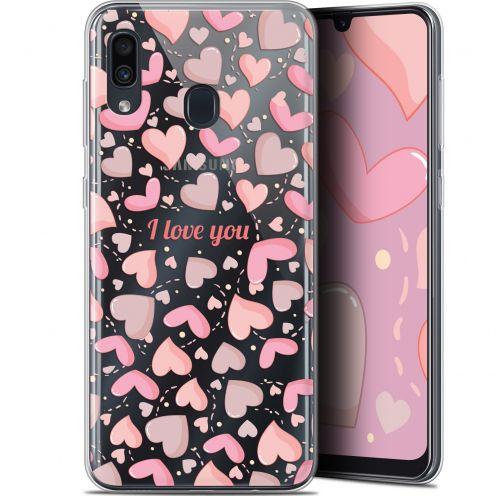 "Carcasa Gel Extra Fina Samsung Galaxy A30 (6.4"") Love I Love You"