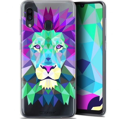 "Carcasa Gel Extra Fina Samsung Galaxy A30 (6.4"") Polygon Animals León"