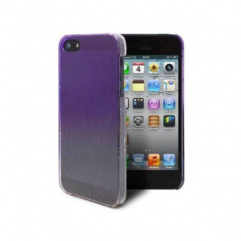 Carcasa gotas de lluvia Raindrops iPhone 5 / 5S / SE Violeta
