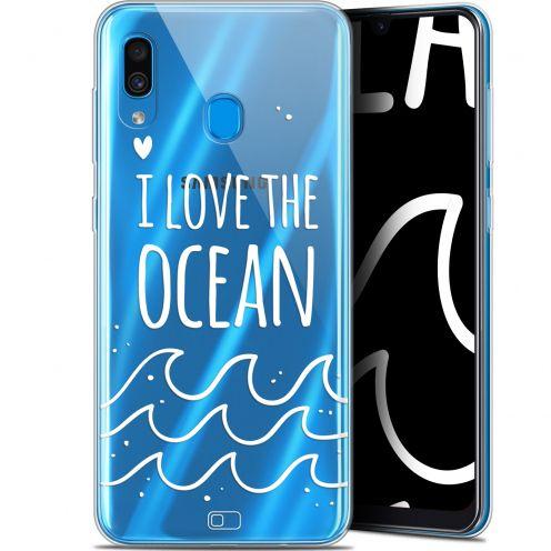 "Carcasa Gel Extra Fina Samsung Galaxy A30 (6.4"") Summer I Love Ocean"