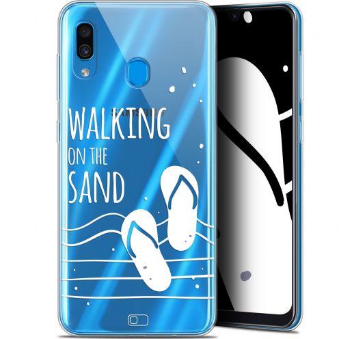"Carcasa Gel Extra Fina Samsung Galaxy A30 (6.4"") Summer Walking on the Sand"