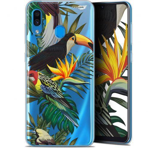 """Carcasa Gel Extra Fina Samsung Galaxy A30 (6.4"""") Design Toucan Tropical"""