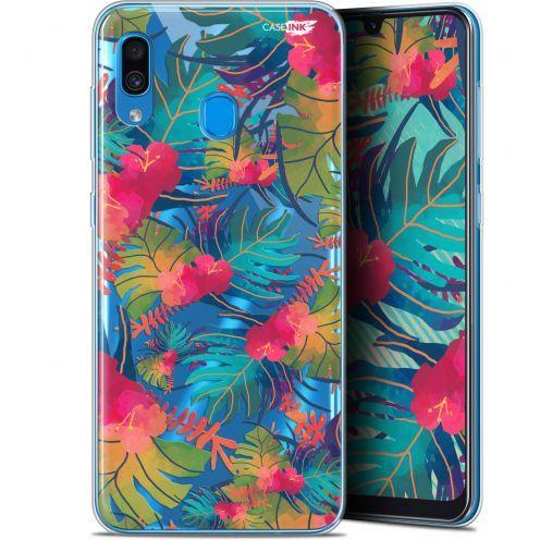 "Carcasa Gel Extra Fina Samsung Galaxy A30 (6.4"") Design Couleurs des Tropiques"