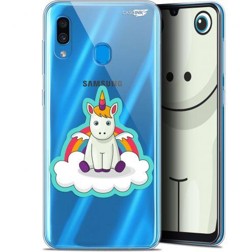 """Carcasa Gel Extra Fina Samsung Galaxy A30 (6.4"""") Design Bébé Licorne"""