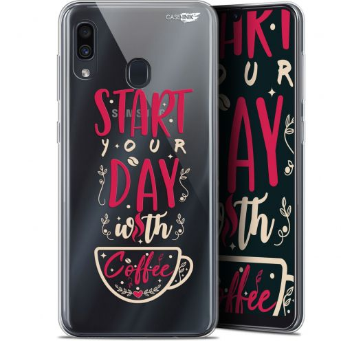"Carcasa Gel Extra Fina Samsung Galaxy A30 (6.4"") Design Start With Coffee"