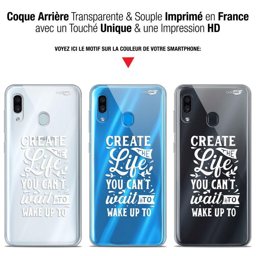 "Carcasa Gel Extra Fina Samsung Galaxy A30 (6.4"") Design Wake Up Your Life"