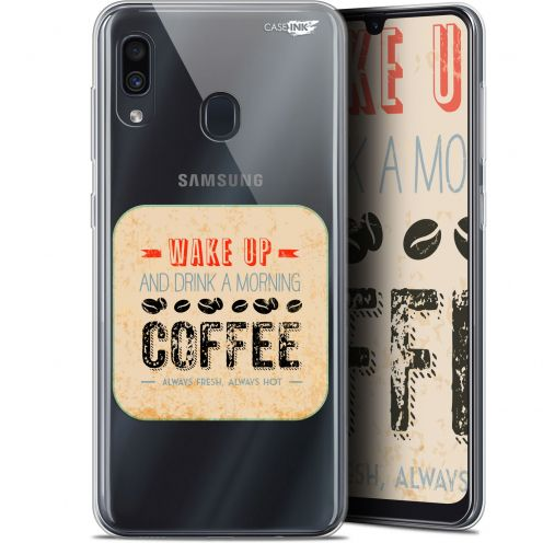 "Carcasa Gel Extra Fina Samsung Galaxy A30 (6.4"") Design Wake Up With Coffee"