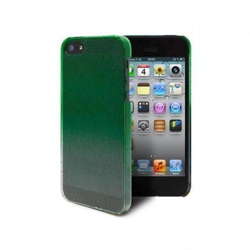 Carcasa gotas de lluvia Raindrops iPhone 5 / 5S / SE Verde