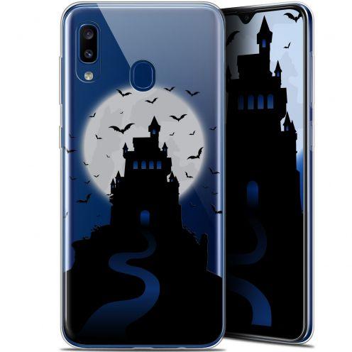 "Carcasa Gel Extra Fina Samsung Galaxy A20 (6.4"") Halloween Castle Nightmare"