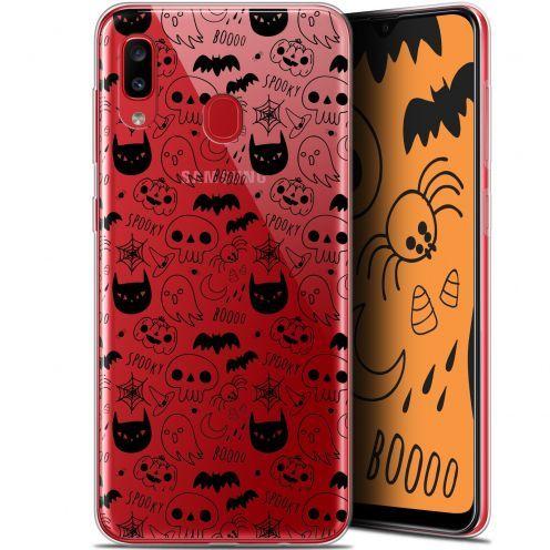 "Carcasa Gel Extra Fina Samsung Galaxy A20 (6.4"") Halloween Spooky"